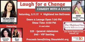 Atlanta Comedy Show Benefits Great Cause!
