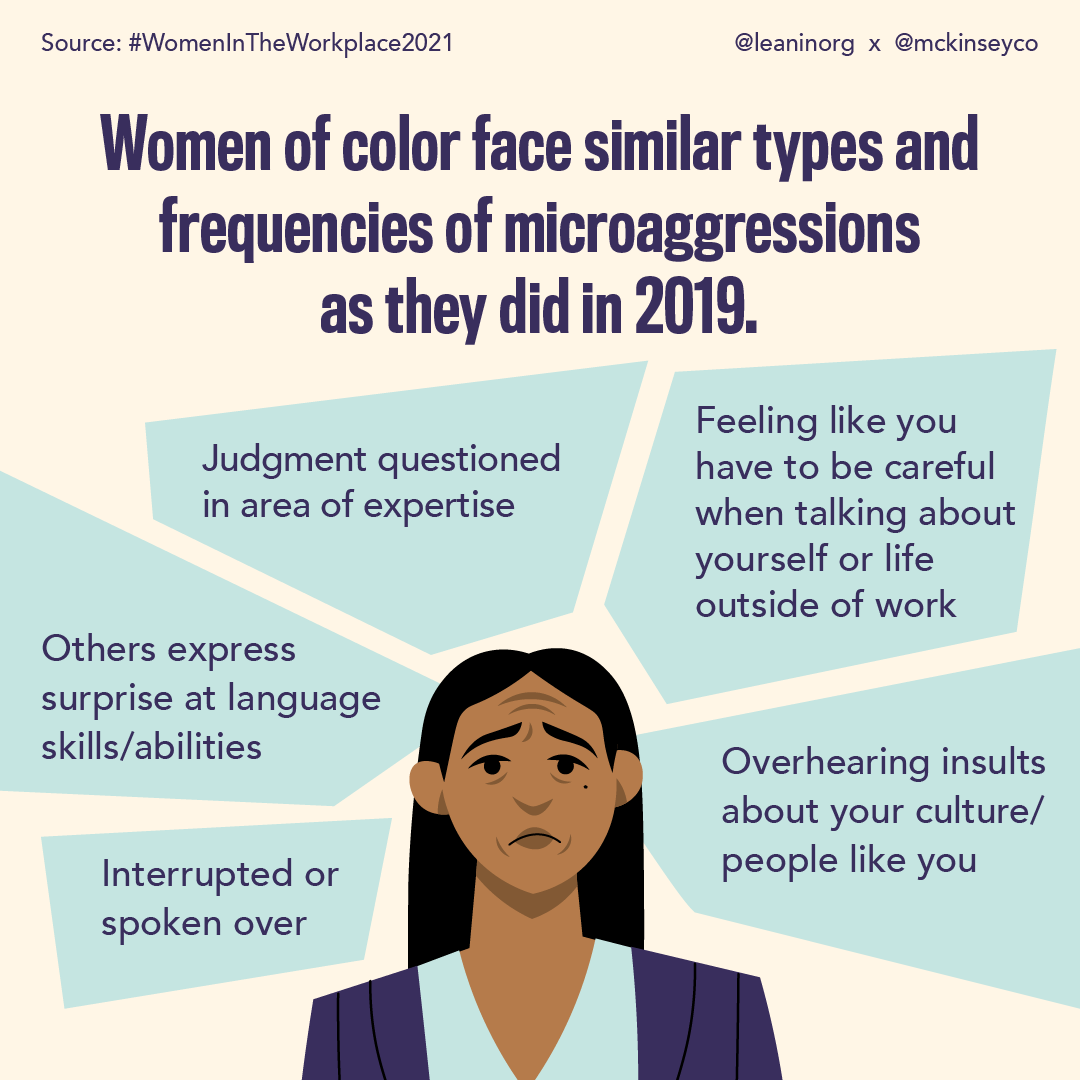 WOC workplace experience